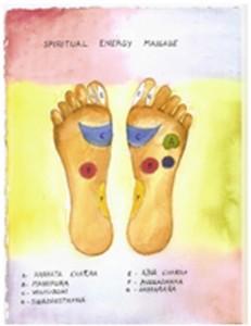 massaggio dell'energia spirituale